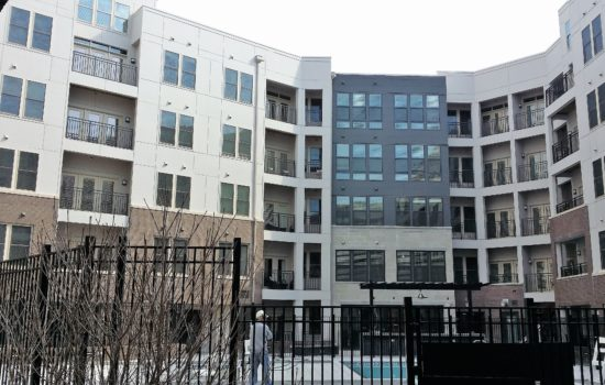 Monroe Square is a new construction multifamily development located in Alexandria Virginia.