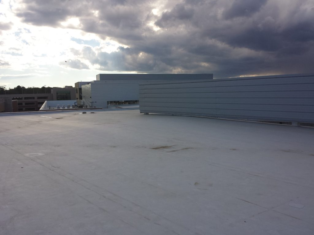 The NCI commercial roofing division provides superior roofing services for new construction, roof replacements, roof renovations, and roof coating systems.