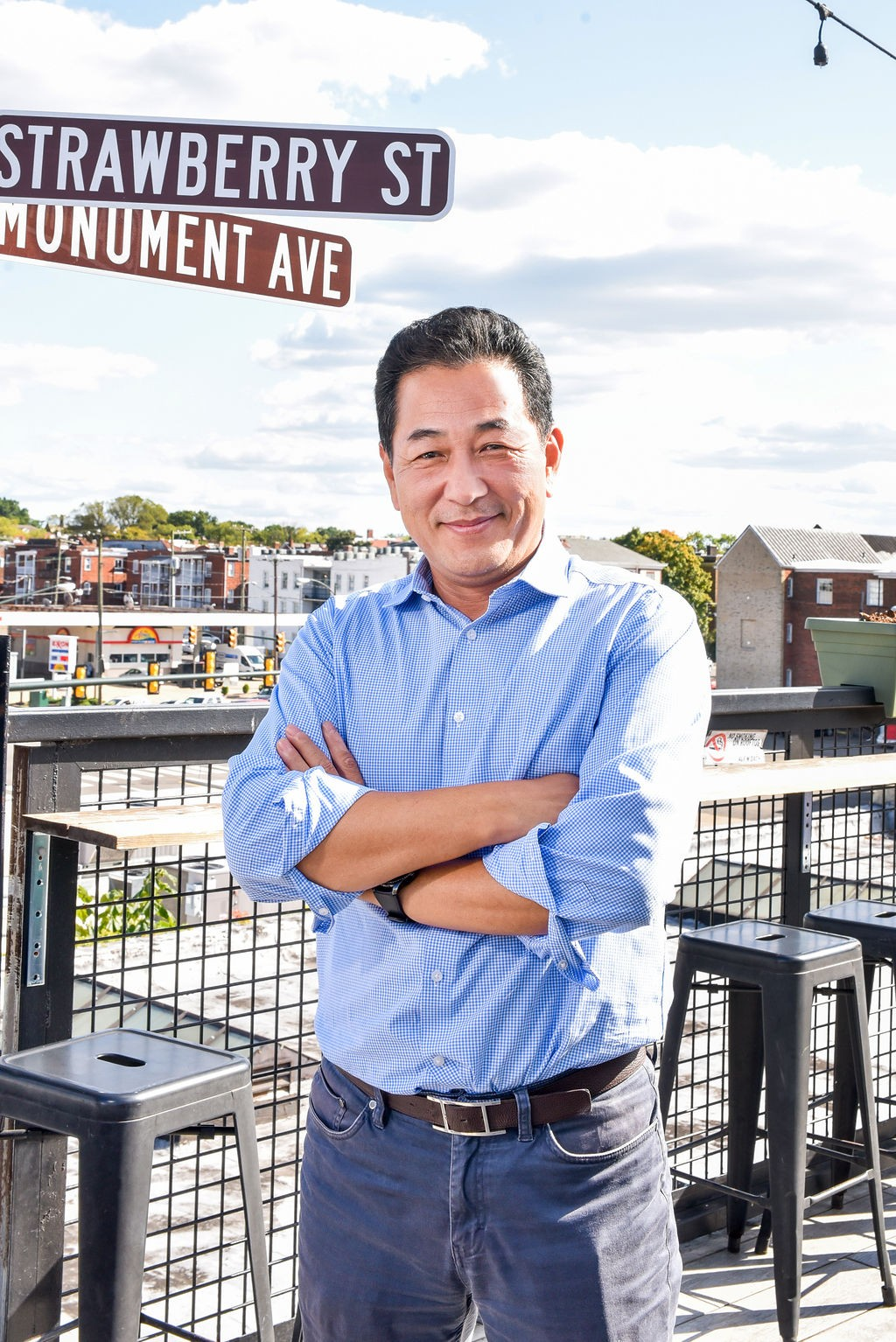 Image of co-president and chief executive officer David Cheon